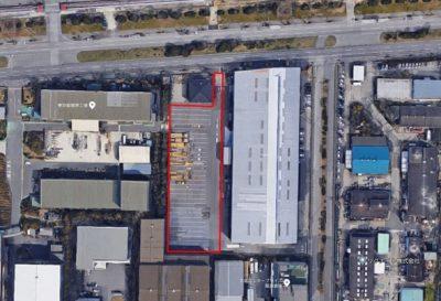 L-115 堺市西区築港新町2丁目 貸土地