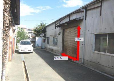 T-127 大阪市平野区瓜破南2丁目 貸倉庫