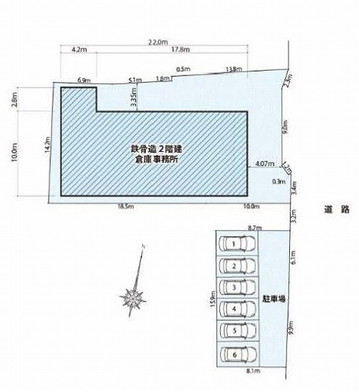 Z-616 川西市東久代2丁目 貸倉庫事務所