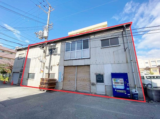 T-151 大阪市平野区加美正覚寺4丁目 貸倉庫