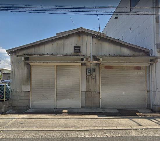 S-205 大阪市城東区永田2丁目 平屋建貸倉庫