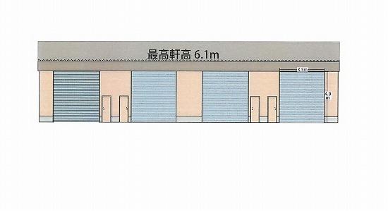 O-643 大阪市東淀川区東中島5丁目 平屋建貸倉庫