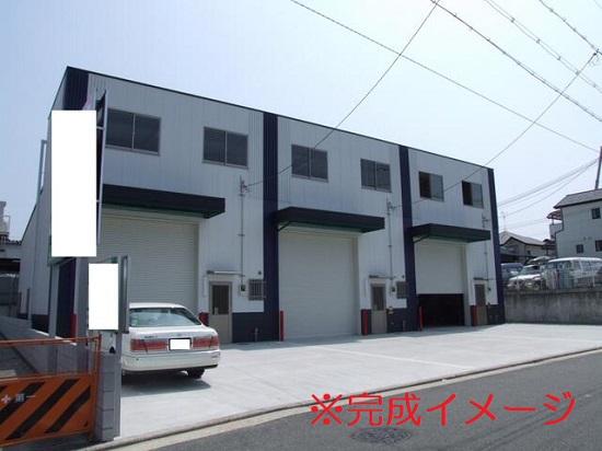 L-184 堺市北区金岡町 貸倉庫事務所